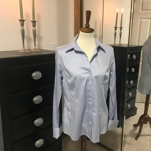 Long sleeved tailored shirt w/ French cuffs